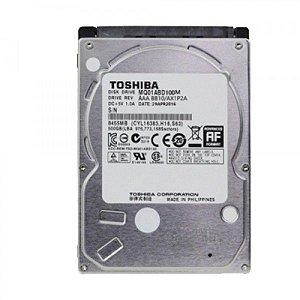 HD Para Notebook TOSHIBA 1TB 2,5 5400rpm Sata III - MQ01ABD100M