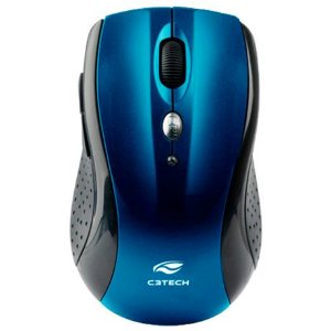 Mouse Sem Fio C3Tech W012BLV2 Azul