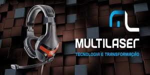 Headset Gamer Multilaser Warrior PH101