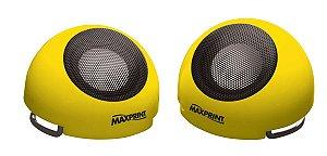 Caixa de Som Maxprint USB - 6W rms - Amarela