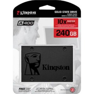 "SSD Kingston 2.5"" 240GB SATA III - SA400S37/240G"