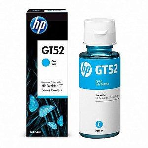 Refil de Tinta Original HP GT52 Ciano M0H54AL - DeskJet GT 5822