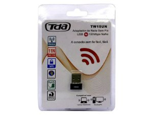 Adaptador Wireless TDA TW15UN USB
