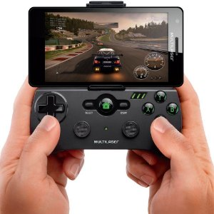 Game Pad Multilaser para Smartphone com Android - JS076
