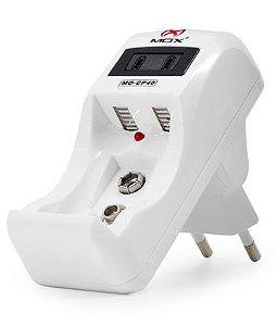 Carregador de Pilhas MOX com Visor LCD MO-CP40