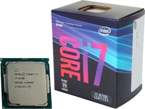 Processador INTEL CORE i7 8700 3.2GHz 12MB Cache LGA1151