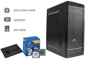 CPU MEGA i3 4MB 3.6GHz, 4GB DDR3, SSD 120GB
