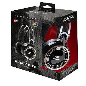 Headset Gaming C3tech Black Kite RGB, PH-G310BK
