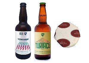 Kit Turiaçu + Ypacaraí + Queijo Atalaia