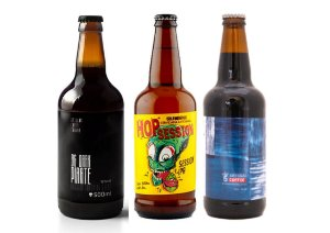 Combo Cervejaria 5 Elementos Session Ipa e Imperial Stout - 3 unidades