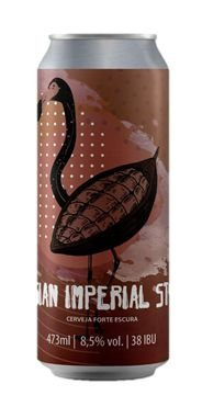 Cerveja Bodoque Stout com Cacau - 473ml