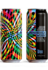 Cerveja Bold Psychedelic Weisse - 473ml