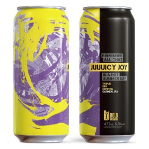 Cerveja Bold Juuuicy Joy - 473ml