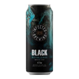 Cerveja Infected Brewing Black Nectar - 473ml
