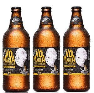 Cerveja Avós Vó Maria e Seu Lado Zen 600ml - 6unidades