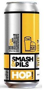 Cerveja TB&TBeer Smash & Pils - 473ml