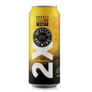 Cerveja Infected Brewing 2X Yellow Nectar - 473ml