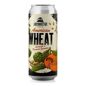 Cerveja Locomotive American Wheat Laranja e Pimenta Jamaica - 473ml