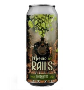 Cerveja Locomotive Mosaic on Rails - 473ml