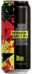 Cerveja Bold Vermont Juicy IPA - 473ml