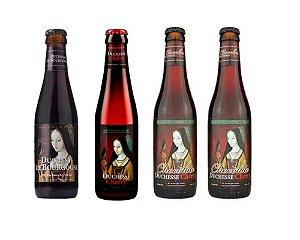 Kit Promocional Cerveja Verhaeghe Duchesse 330ml - 4 unidades