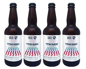 Kit Promocional Cerveja VAIA Ypacaraí 500ml - 4 unidades