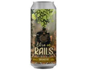Cerveja Locomotive Citra on Rails - 473ml