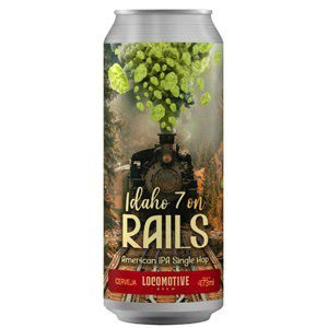 Cerveja Locomotive Idaho 7 on Rails - 473ml