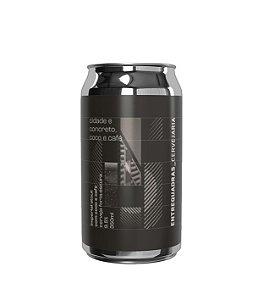 Cerveja Entrequadras Cidade e Concreto Coco e Café Imperial Stout - 350ml