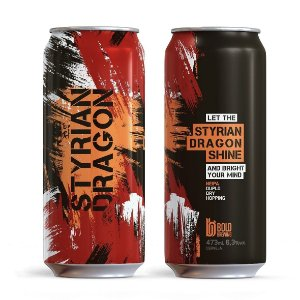 Cerveja Bold Styrian Dragon Shine - 473ml