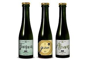 KIT Cervejas ZALAZ - Fumaça - Guaiá 2021- Alecrim