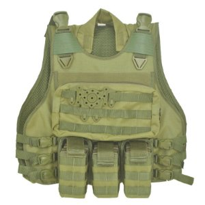 Colete Militar Modular em Cordura Verde