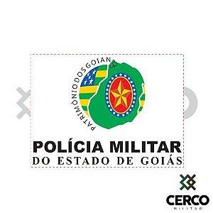 Adesivo Polícia Militar Goiás