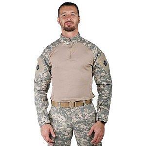Combat Shirt Treme Terra Camuflado Digital Areia