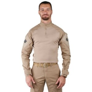 Combat Shirt Treme Terra Caqui