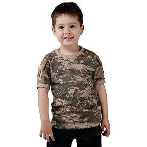 Camiseta T Shirt Ranger Infantil Digital Areia