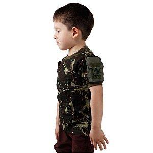 Camiseta T Shirt Ranger Infantil Camuflado EB
