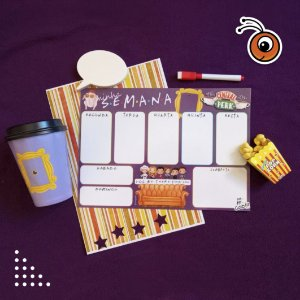 Planner Semanal - Friends 02