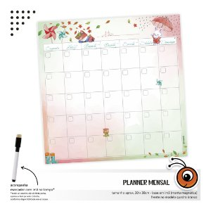 Planner Mensal - Outono