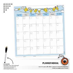 Planner Mensal - Passarinho