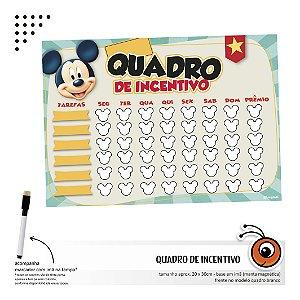 Quadro de Incentivo - Mickey