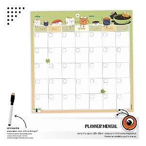 Planner Mensal - Sushi