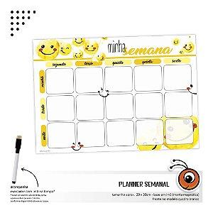 Planner Semanal - Emoji