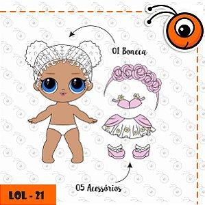 Bonecas Lol - Para vestir com Imãs