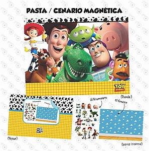 Pasta Cenário Magnética - Toy Story
