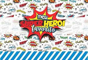 Pasta Cenário Magnética - Heróis