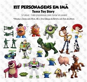 Kit - Toy Story - Personagens em imã