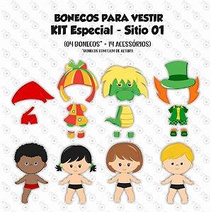 Especial Sítio 01 - Bonecos de vestir