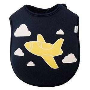 Babador Neoprene Avião Clingo