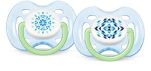 Chupeta Contemporânea BPA Free 0/6m Double Pack Philips Avent